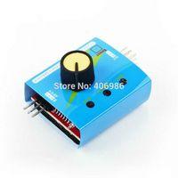 battery test light - 10pcs Digital RC ESC Multi Servo Tester Gear Test CCPM Consistency Master Checker CH V with Indicator Light