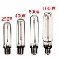Wholesale Modern Design E40 W W W W HPS Lamp White Light High Pressure Sodium Flower Bulb Plant Grow Light For Ballast
