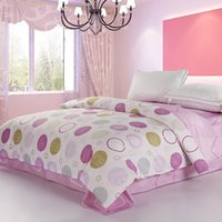 best quilt patterns - Hot Best Quality Quilt Cover Reactive Printing Duvet Cover Combed Cotton Fabric Endless Bubble Patterns