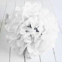 beautiful tissue paper - New Fasion Beautiful inch Wedding Birthday Home Outdoor Decor Tissue Paper Poms Flower Balls