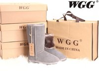 australian leather - 2016 top Australian WGG warm snow boots women s plush boots free of charge