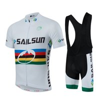 bib set designs - 2016 Self design Road Cycling Jersey Set Short Sleeve With Padded Bib None Bib Set Polyester Breathable Bicycle Cloth Close A02