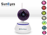 SunEyes SP-S701W 720P HD Mini P2P Caméra IP sans fil Wifi Pan / Tilt Deux voies audio vidéo Push Alarm avec détection de mouvement APP gratuit