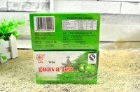 Wholesale 2g BOX Pure Natural Organic Herb tea Guava Tea Health Teabag Control Diabetes herbal Plant tea Lowering blood lipids