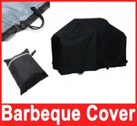 Wholesale Black Barbeque Grill Waterproof Bbq Cover cm Outdoor Rain Barbecue Grill Protector cm Hot Selling