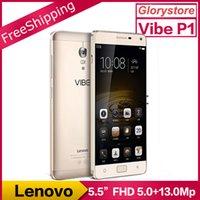 analog pro - Original Lenovo Vibe P1 Pro G FDD LTE Mobile Phone Snapdragon Octa core Dual SIM inch FHD G RAM G ROM M Fingerprint mAh