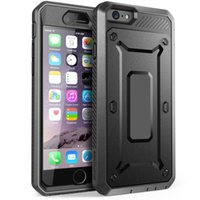 Wholesale Built in Screen Protector Case for iPhone S Plus Heavy Duty Defender Impact Hybrid Armor Durable Full Protection Iphone S Back Cover