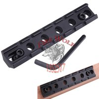 aluminum side rails - New Compact Aluminum Tactical Rifle Scope Rail Base Picatinny RIS mm Standard Weaver Scope Side Rail Mount Base Holder