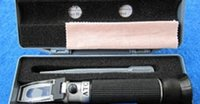 Vente en gros et au miel concentration mètres de la compensation de température du détecteur Brix réfractomètre apiculture test d'humidité et de mesure