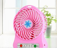 Wholesale Mini electric fan lithium battery usb small fan fan with the student s dormitory
