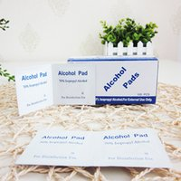 Wholesale Mobile phone small wound disinfection tableware blood piece with disposable alcohol wipes monolithic piece of cotton g