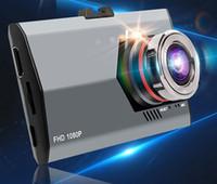 Nuevo mini dashcam coche DVR videocámara Full HD Dash Cámaras Grabadora G-sensor de aparcamiento DVRs video 1080p Hot Box Car Negro Buena calidad de la venta de DHL