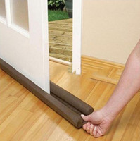 Wholesale Twin Door Draft Dodger Guard Stopper For Doors Windows Protector Doorstop