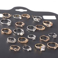 batch fines - Korean Version Of The Popular Micro Pave Crown Jewel Rings Jewelry Mixed Batch Of Ultra fine Jewelry