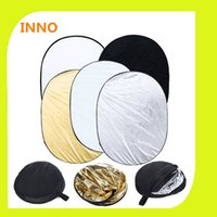 Wholesale 35 x x cm in Portable Collapsible Light Photography Reflector for Studio Multi Photo Disc chromakey PSCR3