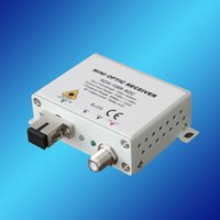 Wholesale Cable TV Optical fiber AV to RF Converter FTTH Receiver