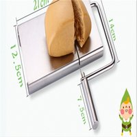 cheese cutter - Cheese Slicer Cutter Board Stainless Steel Wire Cutting Kitchen Hand Tool Serving Board Top Quality for Any Cheese Lovers