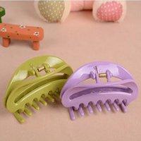Wholesale 2016 New Piece Colorful Semicircle Showers Hairclip Bathing Hairpin Ladies Hair bridars Hair Gripper