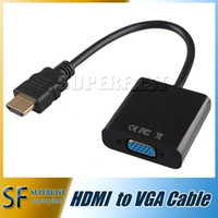 apple vga converter - Apple MacBook HDMI Adapter Cable High quality Black cable Display Port Male to HDMI Female Converter Adapter Cable OPP package