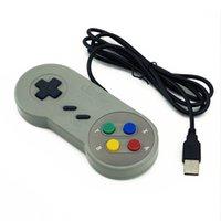 Super Game Controller SNES USB Gamepad Classic pour PC Jeux MAC pour Win98 / ME / 2000/2003 / XP / Vista / Windows7 / 8 / Mac os