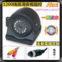 Wholesale Waterproof Night Vision TVL CCD Car Backed Up Camera For Bus Truck Rearview Mirror Monitor V