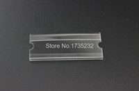 acrylic sign holder wall - 3 cm acrylic label holder wall desktop adhesive flat label holder price card tag sign holder label frame