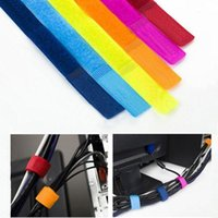 Wholesale Cable Winder Wrapped Cord Wire Organizer Computer Plug USB Date Cable Bobbin Winder Clip Holder Wrap Wire Management