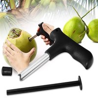 Wholesale Stainless the Coconut Opener Coconut Opener The Practical Coconut Open Hole Opener Coconut Tools Drill Opener Drop Shipping