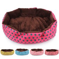 Wholesale Pet Dog Bed Warming Dog House Soft Material Dog Cat Kennel Warm Winter for Dog Cat Pet Products