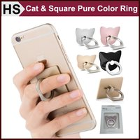 Wholesale Universal Mount Metal Ring Kickstand Hook For Cell Phone iPhone S Plus Degree Freely Safe Stickup Secure Grip Retail Package