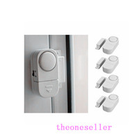 Wholesale 400pcs Wireless Door Window Entry Burglar Alarm Safety Security Guardian Protector Warning Safety System