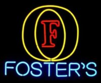 alcohol board - Business Custom NEON SIGN board For Foster s Logo Beer Alcohol Bar Pub Store GLASS Tube BEER BAR Club Shop Light Signs quot