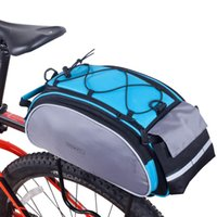 bicycle rack pack - ROSWHEEL Cycling Frame Pack Bag Strong and Water resistant Cycling Bike Bicycle Frame Rack Pack Multifunctional Bicycle Bag