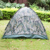 Wholesale New person Outdoor Camping Waterproof folding tent Camouflage Hiking