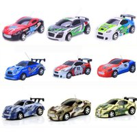 Wholesale Amazing Colors CH Coke Can Car Mini RC Car Poker Mini Remote Control Car Vechice Models RC Toys for Boys
