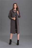 Precio de Solo botón abrigos negros-Gris / negro / rojo de lana de las mujeres cubre 2016 de alta calidad de la moda de las señoras de invierno abrigos botón único largo outwear mujeres capas