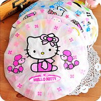 Wholesale Cute Cartoon Household Shower Cap Waterproof Shower Cap Environmental Protection Lace Elastic Band Hat Bath Cap Bathroom Products