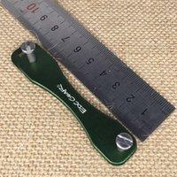 aluminum key chains - high quality Portable Key Organizer Holder Key Clip Smart Flexible Key Chains Case Compact Keychain Hard Oxide Aerospace Aluminum