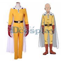 Wholesale One Punch Man Saitama Cosplay Costume Anysize