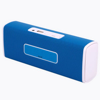 audio rock - Protable Mini Rock boombox Bluetooth Speaker NFC Micro SD Aux in Handsfree Stereo Mic Music for Mobile Phones Tablet Laptop
