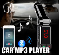 aux port - BC06 Bluetooth MP3 Car Charger BT Wide Use Wireless Music Player BC Support TF Card Speaker Mini Dual Ports Charging AUX FM Transmitter