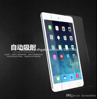 Wholesale 0 mm Tempered Toughened Glass Film Screen HD Protector For iPad ipad mini Ipad air With Retail Package