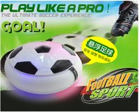 Wholesale Magic Hover Air Suspension Ball Mini Indoor Floating Foam Soccer Football with led Toys For Kids Safe Half Balls