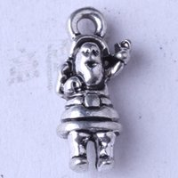 antique grandfather - DIY antique Silver bronze Grandfather charms alloy jewelry fit Necklace or Bracelets pendant