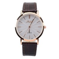 Wholesale Brand Creative Minimalist Steel Leather Normal Waterproof READ Watch Men and Women Couple Watch Business Casual Watches