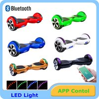 battery balance leads - Bluetotoh Speaker Hoverboard Smart Balance Scooter Wheels Inch hoverboards With LED Light on Top UL Battery App Control