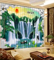 art top curtain - Curtain Top Classic D European Style Home Decor Living Room Natural Art D curtains beautiful window curtains scenery nature