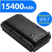automotive help - Car GPS Tracker mAh Big Battery Powerful Magnet V1A Power Bank Vibration Sensor SOS Help Button Voice Monitor Remotely