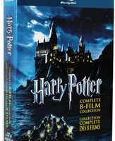 Wholesale Dropship Harry Potter Blu ray Complete movies Disc Set US Version Boxset New