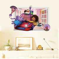 Wholesale Latest Cartoon Party Cute Movie Home Boov Wall Sticker for Kids Room Home Decor